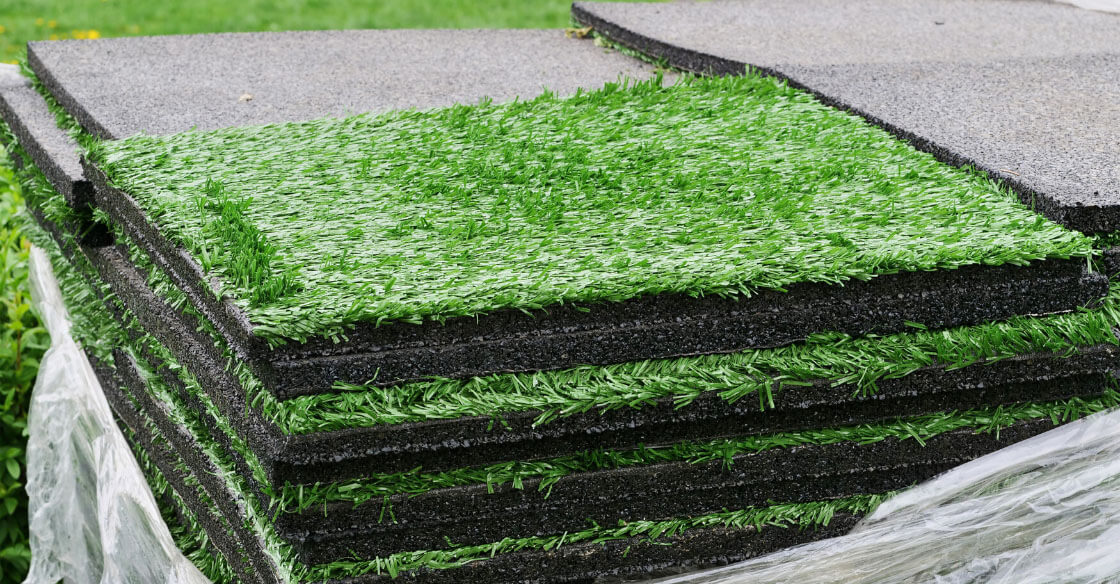 what is under artificial turf
